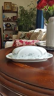Johann Haviland Blue Garland Butter Dish Cov'D 1/4 Lb.