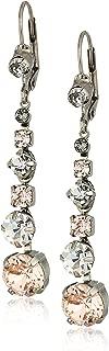 Sorrelli Women's Dazzling Dotted Line Earrings