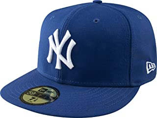 MLB New York Yankees Light Royal with White 59FIFTY Fitted Cap, 7 3/4