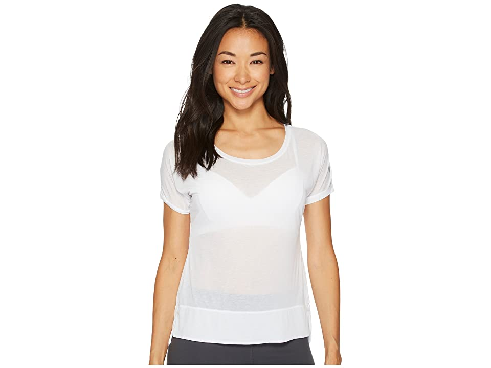 ASICS Legends Crop Top (Brilliant White) Women
