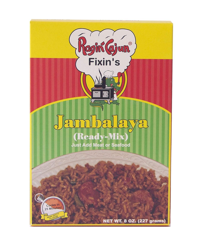 Jambalaya Ready-Mix 8 oz OFFicial shop Ragin' Max 70% OFF Cajun of 12 Pack