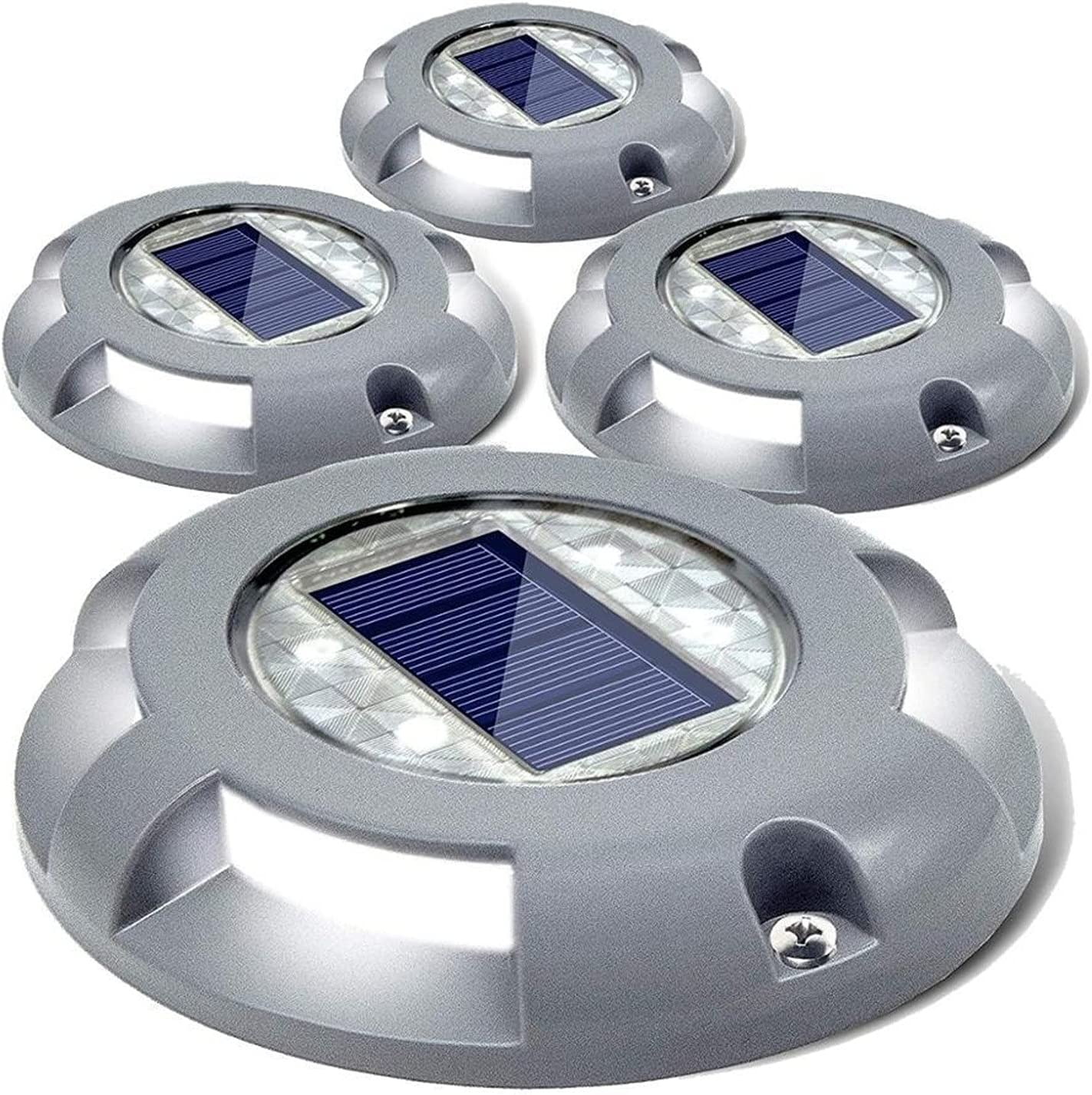 ZHAHAPPY Solar Deck Lights - Driveway Light Power Dock LED Alternative dealer OFFicial mail order