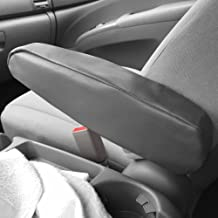 FH Group FH1052GRAY Armrest Cover Semi-Universal (Gray Premium Faux Leather - One Pair Set of 2)