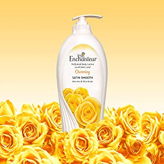 Enchanteur Perfumed Body lotion With alo Vera & Olive Butter Charming 500 mL