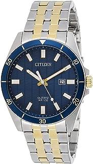 CITIZEN Mens Quartz Watch, Analog Display and Stainless Steel Strap - BI5054-53L, Silver