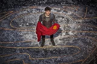 HandTao Krypton 1 2 TV Show Series Fabric Cloth Wall Poster Photo Print 47x32 Inch