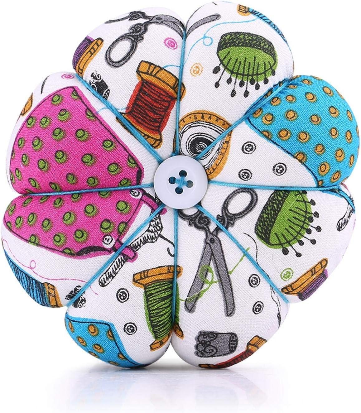 Charlotte Indianapolis Mall Mall Tyenaza Creative Pumpkin Fabric Sewing Needles Pin Cushion with