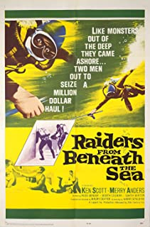 Raiders from Beneath the Sea 1964 U.S. One Sheet Poster