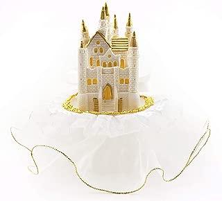 Birthday/Wedding White Castle Cake Top 7