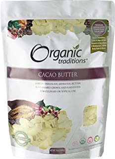 Organic Traditions Cacao Butter Gluten Free - 16 oz