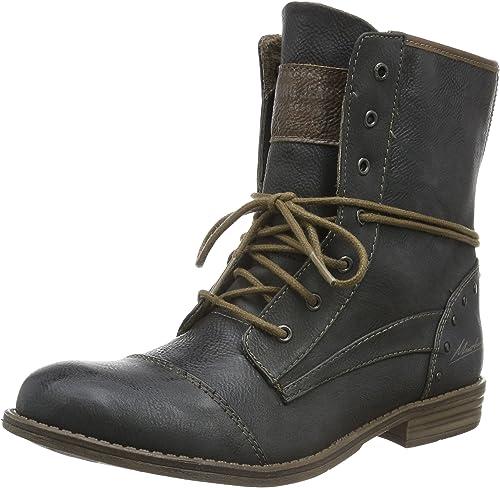 Mustang - botas de Sintético para mujer gris