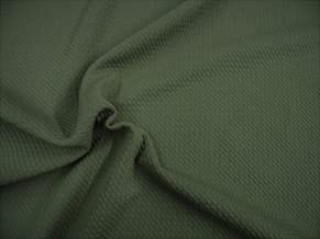 Bullet Textured Liverpool Fabric 4 Way Stretch Olive Drab T36