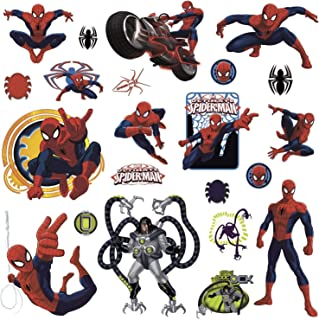 RoomMates Ultimate Spiderman Peel and Stick Wall Decals - RMK1795SCS