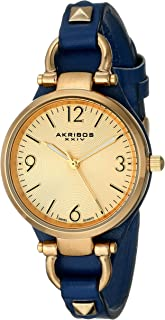 Akribos XXIV Women's Ador Analogue Display Quartz Watch with Alloy Bracelet
