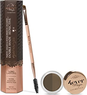 Double Shade Long Lasting Water Resistant Eyebrow Gel included dual brush (HOCUS POCUS BLONDE)