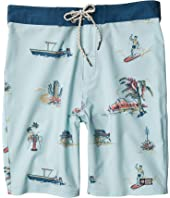 Pescador Boardshorts (Little Kids/Big Kids)