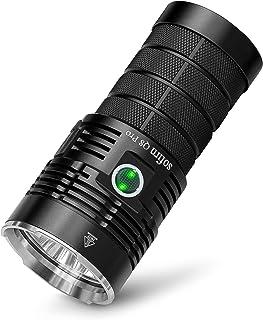 sofirn Q8 Pro Super Bright Flashlight 11000 Lumen, Rechargeable Flashlight, 4 x CREE XHP50.2 LEDs, Mobile Phone Power Ban...