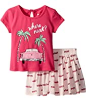 Kate Spade New York Kids - Where Next Skirt Set (Infant)