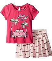 Kate Spade New York Kids - Where Next Skirt Set (Infant)