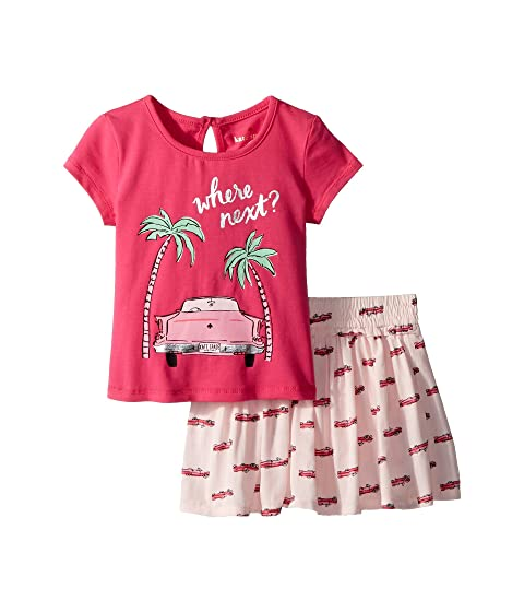 Kate Spade New York Kids Where Next Skirt Set (Infant)