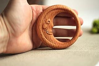 Good Night Moon Rattle, Baby Rattle, Wooden Rattle, Wooden Baby Toy, Eco Friendly Baby Toy, Organic Baby Toy, Montessori Rattle