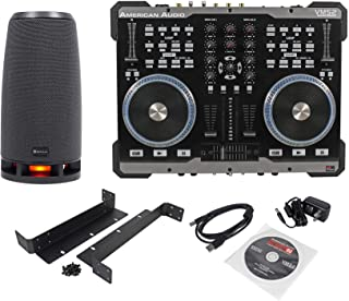 $249 » American Audio VMS2 USB MIDI DJ Controller With Touch Scratch Wheel + RockShip