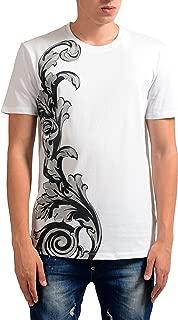 Collection Men's White Graphic Print T-Shirt US XL IT 54;