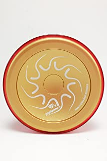 YoYoFactory Nine Dragons Yoyo Color Gold with Red Cap New Limited Release