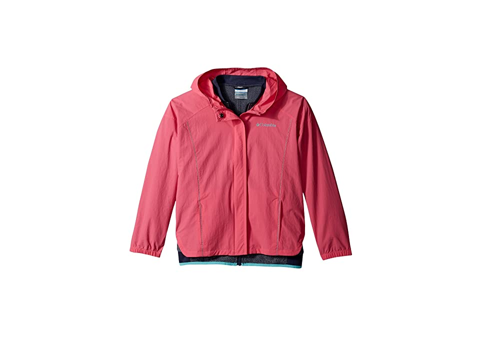 Columbia Kids Next Destination G Interchange Jacket (Little Kids/Big Kids) (Wild Geranium) Girl