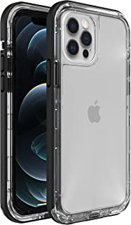 LifeProof Next Amplify The Action, Clear and Slim DropProof, DustProof and SnowProof Case for Apple iPhone 12/12 Pro - Cle...