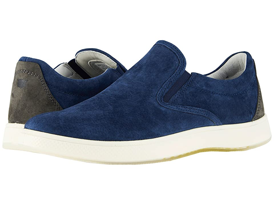 Florsheim Edge Double Gore Slip-On (Navy Nubuck) Men