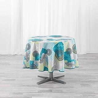 Douceur d'Intérieur Peachy Linge DE Table, Bleu, (0) 180 CM