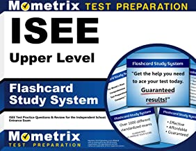 ISEE Upper Level Flashcard Study System: ISEE Test Practice Questions & Review for the Independent School Entrance Exam (Cards)