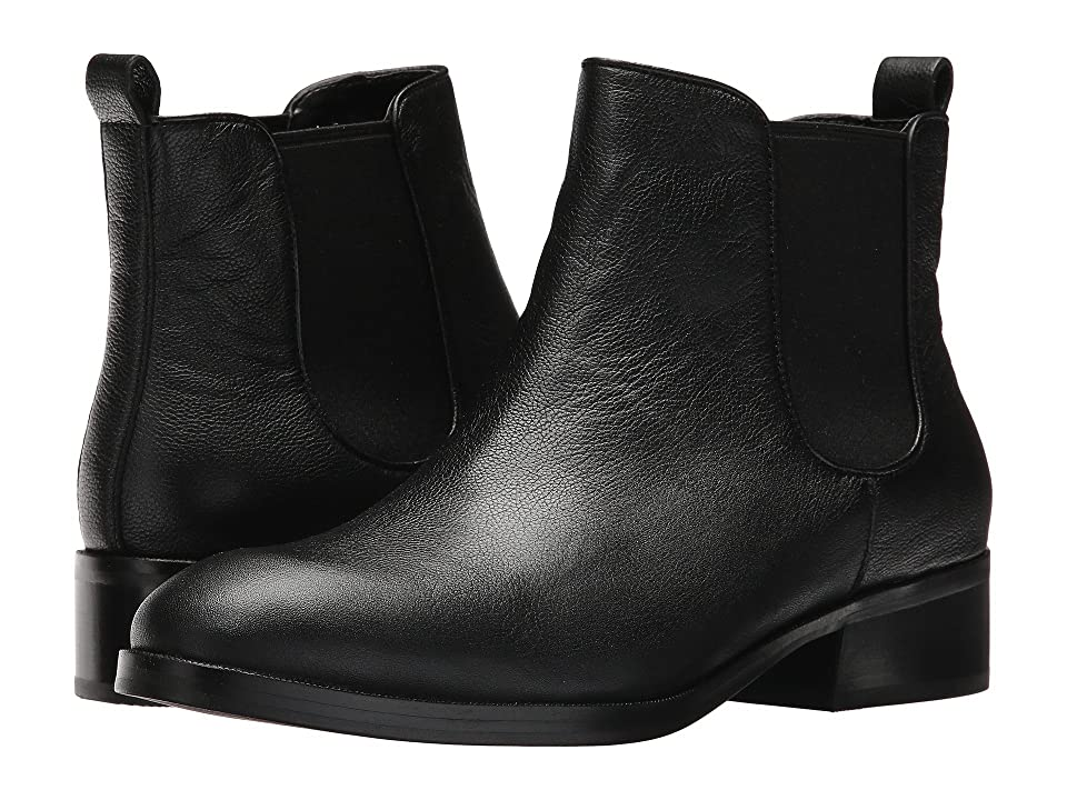 Cole Haan Landsman Bootie II (Black Leather/Black Gore) Women