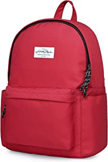 CANDER Middle School Backpack for Teen Girls & Boys: Classic, Comfort, Multi-pockets, Durable for Junior High Schooler, Maroon