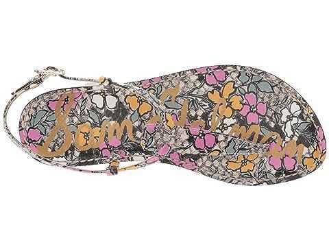 Perfect For Sale Sam Edelman Gigi Bright Multi Retro Floral Print Snake Cheap Wholesale Price a0EC9