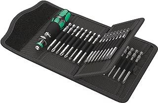 Wera Kraftform Kompakt 62 Bitholding Screwdriver and Pouch Set, 33-Pieces