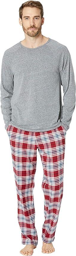 Steiner Woven Sleepwear Set Gift Box