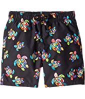 Vilebrequin Kids - Jim Over the Rainbow Turtles Swim Trunk (Toddler/Little Kids/Big Kids)