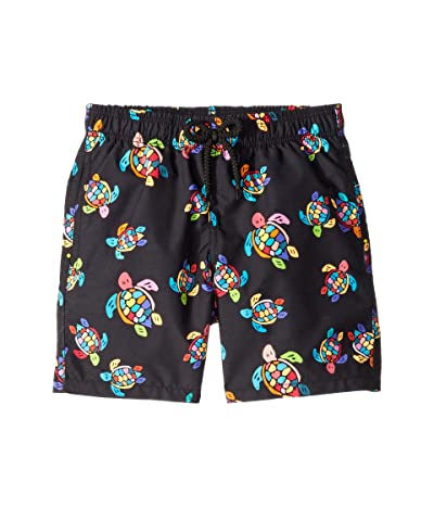Vilebrequin Kids Jim Over the Rainbow Turtles Swim Trunk (Toddler/Little Kids/Big Kids)