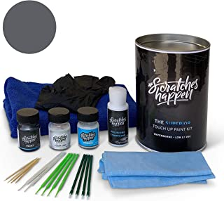 ScratchesHappen Exact-Match Touch Up Paint Kit Compatible with Kia Gravity Gray (KDG) - Complete