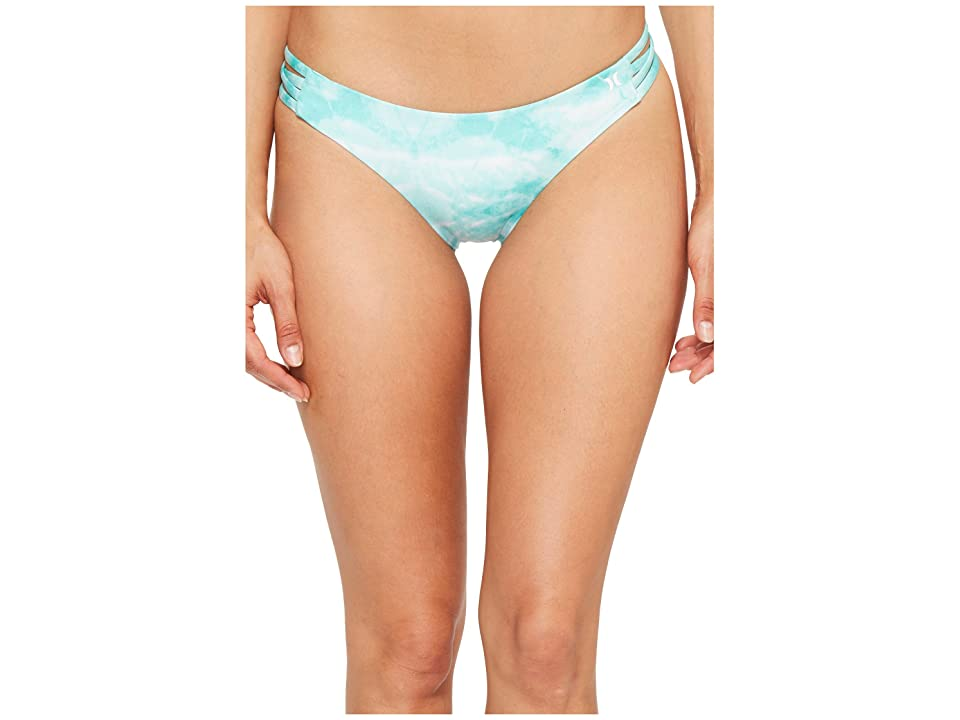 Hurley Quick Dry Tie-Dye Surf Bottoms (Washed Teal) Women