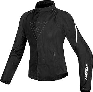 Dainese Women's Laguna Seca D1 D-Dry Black/White Jacket 2654594-622-48