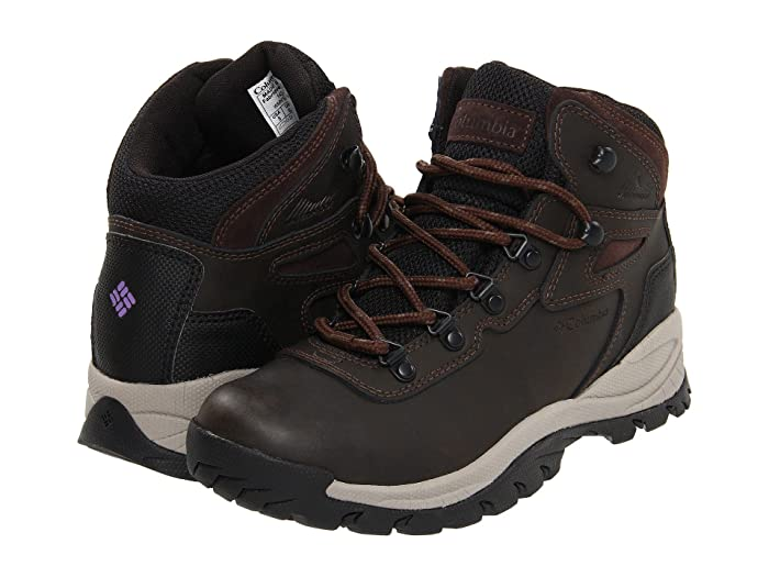 Columbia  Newton Ridge Plus (Cordovan/Crown Jewel) Womens Hiking Boots