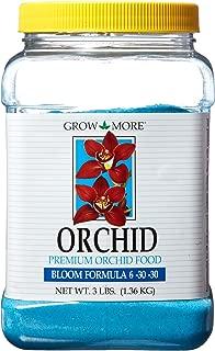 Grow More 7516 Premium Orchid Bloom 6-30-30 Fertilizer, 3-Pound