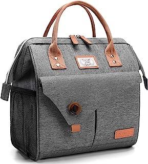 Lekesky Sac Isotherme Repas 11L Bureau Lunch Bag Isotherme femme Pique-Nique Sac-pour Travail, École, Excursions, Shopping