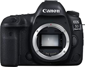 Canon EOS5DMK4 EOS 5D Mark IV DSLR Camera (Body Only) International Version (No Warranty), Black