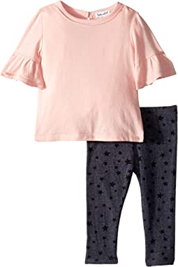 Star Print Leggings Set (Infant)