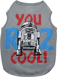 Star Wars You R2 Cool Gray Dog Tank