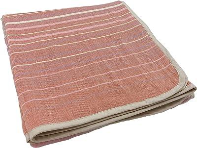 大津コーポレーション ガーゼケット ピンク シングル 三河木綿 三重織 8721001F-1